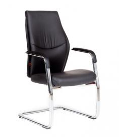 Кресло для посетителей CHAIRMAN Vista V чёрное