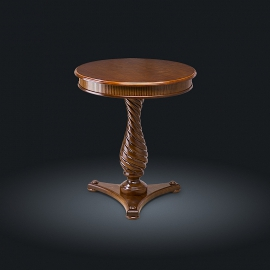 Стол кофейный из натурального дерева Zzibo, арт. 145
