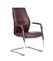 Кресло для посетителей CHAIRMAN Vista V коричневое