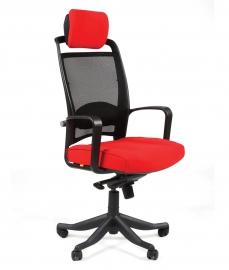 Кресло руководителя CHAIRMAN 283 красное