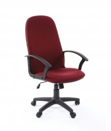 Кресло руководителя CHAIRMAN 289 бордовое