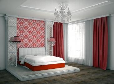 Кровать Domenic с ортопедической решеткой