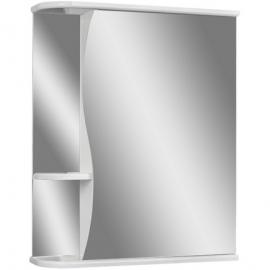 Шкаф навесной с зеркалом АЙСБЕРГ Волна-1 55-R правый
