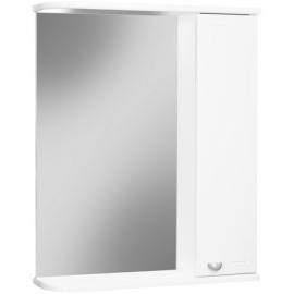 Шкаф навесной с зеркалом АЙСБЕРГ Классик 50-R правый