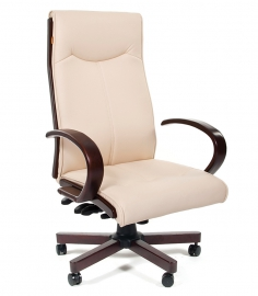 Кресло руководителя CHAIRMAN 411 бежевое