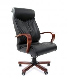 Кресло руководителя CHAIRMAN 420 WD чёрное