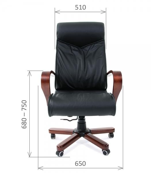 Кресло руководителя CHAIRMAN 420 WD белое