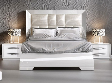 Кровать двуспальная FRANCO Carmen ( 160 ) белая