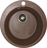 Кухонная мойка врезная круг D 470мм