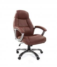 Кресло руководителя CHAIRMAN 436 коричневое