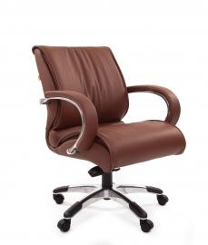 Кресло руководителя CHAIRMAN 444 коричневое