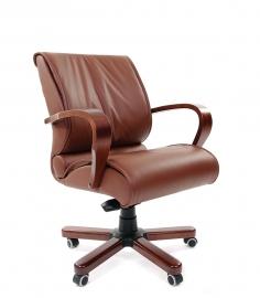 Кресло руководителя CHAIRMAN 444 WD коричневое