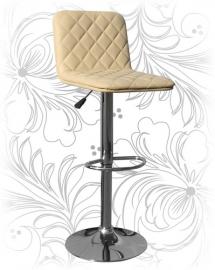 Кремовый барный стул 5003