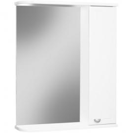 Шкаф навесной с зеркалом АЙСБЕРГ Классик 55-R правый