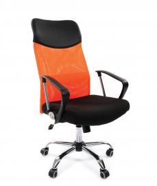Кресло руководителя CHAIRMAN 610 оранжевое