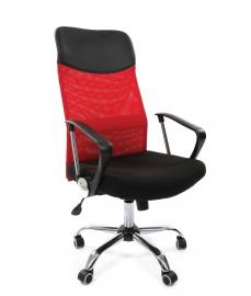Кресло руководителя CHAIRMAN 610 красное