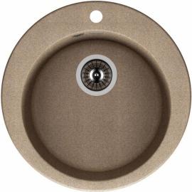 """Кухонная мойка врезная круг """"Гала"""" D 510мм"""