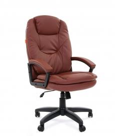Кресло руководителя CHAIRMAN 668 LT коричневое