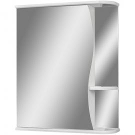 Шкаф навесной с зеркалом АЙСБЕРГ Волна-1 55-L левый