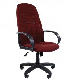 Кресло руководителя CHAIRMAN 727 бордовое
