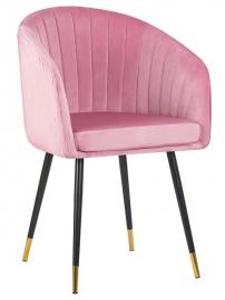 Стул 7305 Pink, велюр