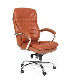 Кресло руководителя CHAIRMAN 795 коричневое