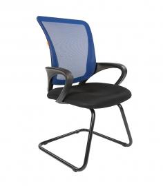 Кресло для посетителей CHAIRMAN 969 V сетка синяя