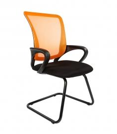 Кресло для посетителей CHAIRMAN 969 V сетка оранжевая