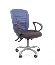 Кресло оператора CHAIRMAN 9801 ERGO ткань голубая/серая