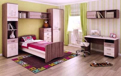 Набор подростковой мебели Британия 3