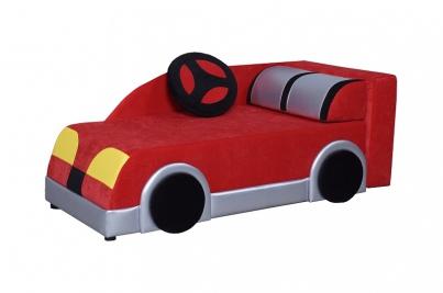 Диван детский Клевер 22Н Машина красная