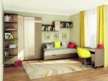 Набор подростковой мебели Бриз 1