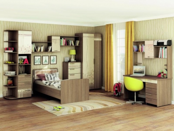Набор подростковой мебели Бриз 2
