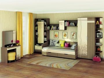 Набор подростковой мебели Бриз 3