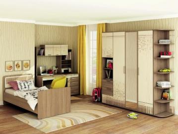 Набор подростковой мебели Бриз 4