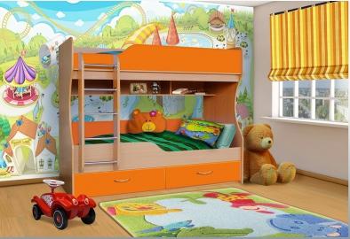 Кровать двухярусная Анюта 4