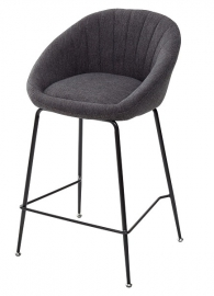 Полубарный стул ATLAS темно-серый
