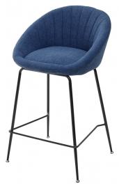 Полубарный стул ATLAS синий