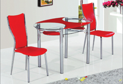 Стол В-180-2 красный