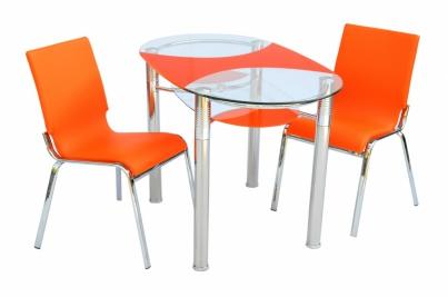 Стол 180-3 оранжевый