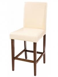 Полубарный стул VERDEN Esperesso&Beige