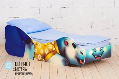 """Детская кровать Бегемот """"Мотя"""""""