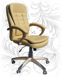 Кресло офисное LMR-106B бежевое