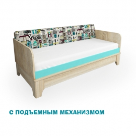 """Кровать """"Индиго"""" с подъемным механизмом"""