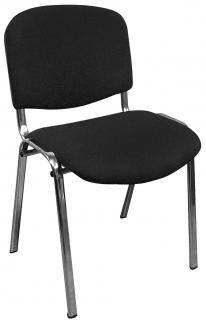 Компьютерный стул ИЗО черный (хром) комплект 5 шт