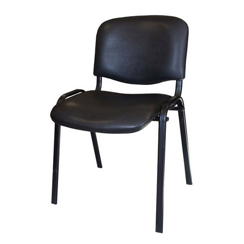 Компьютерный стул ИЗО каркас чёрный (кожзам)