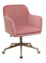 Кресло компьютерное  Molly Pink & Gold