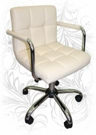 Офисное кресло 9400 кремовое