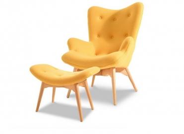 Кресло DC917 yellow