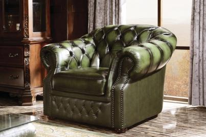 Кресло В-128 зелёный